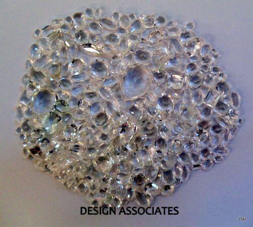 DIAMOND QUARTZ FACETED  GEMSTONE PARCEL OVER 100 CARATS ALL NATURAL