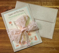 Custom Wedding Invitations, Event Stationery, Birth Announcement