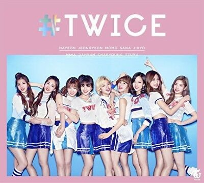 TWICE Japan Debut Album 1st Limited Edition A CD+Photobook+2 Card+ Poster F/S