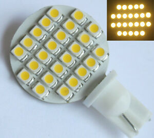 10x-T10-194-921-W5W-Bulb-Lamp-24-SMD-1210-LED-12V-DC-Warm-White
