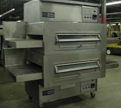 Middleby Marshall Ps360wb Doublestack Gas Pizza Oven 40 Conveyor Belt Free Ship