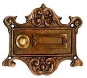 Klingelplatte Bronze