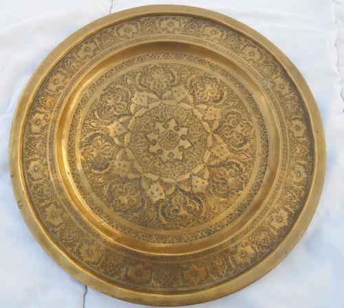 Antique Metal Painted Trays