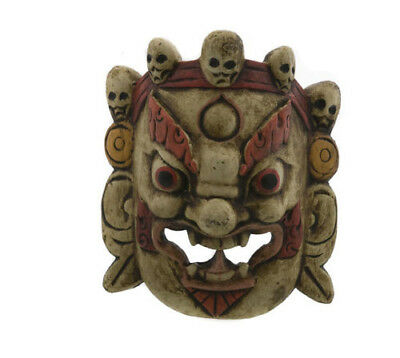 Mask Hat and Mitten Set of L'Himalaya Demon Nepal 6191