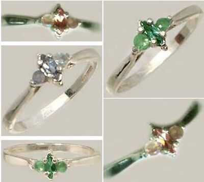 19thC Antique Handcrafted Genuine Natural Russian Color-Change Alexandrite .925