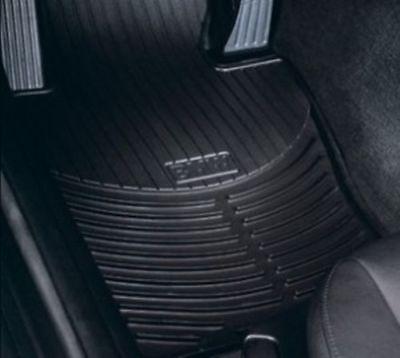 Floor Mat All Weather Rubber Floor Mats   Front BMW OEM 82550302997