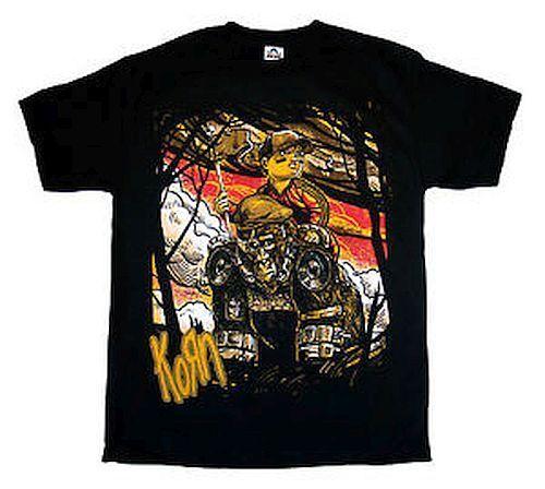 Korn Rilla T-Shirt Black S M 2XL Licensed Band Shirt New