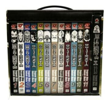 Deathnote Boxset Brand New Vol 1-13 with bonus