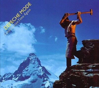 Depeche Mode   Construction Time Again  Collectors Edition  New Cd  Hong Kong