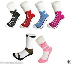 men women Silly Sock Sneaker Socks Cotton Converse Shoe Trainer Homebush West Strathfield Area Preview