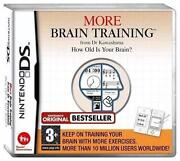 More Brain Training DS