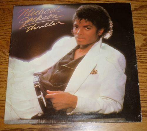 Original Michael Jackson Thriller Album Ebay