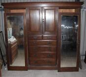Large Antique Wardrobe