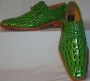 cheap for discount baaf7 bc57d Mens Lime Green Dress Shoes