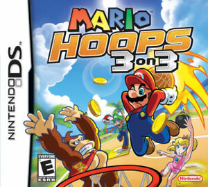 mario hoops 3 on 3 gameboy ds game