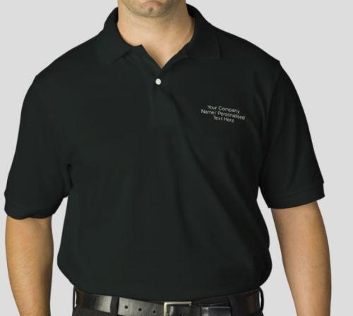 Custom embroidered polo shirt ebay for Custom printed polo shirts cheap