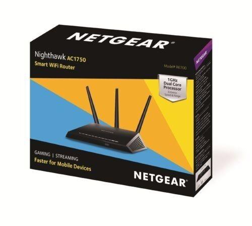 Netgear Nighthawk AC1750 Smart Dual Band WiFi Router  - New