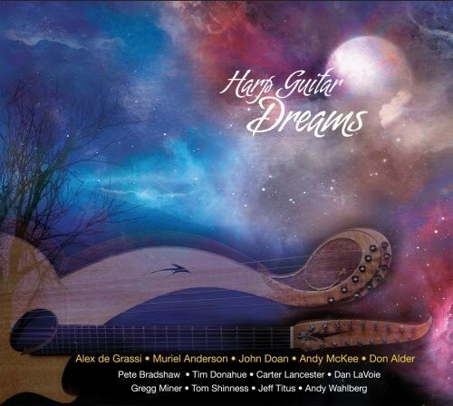 Various Artists - Harp Guitar Dreams [New CD]