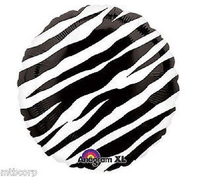 ZEBRA PRINT Black & White All Occasion Birthday Shower 18