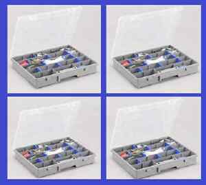 4Stück Allit Sortimentskasten EuroPlus Do It 37/7-12 Sortimentskiste 415320