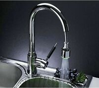 Led Pull Out Spray Tap Kitchen Sink Mixer Faucet Chrome Swivel Yd61 - friendsafe - ebay.co.uk