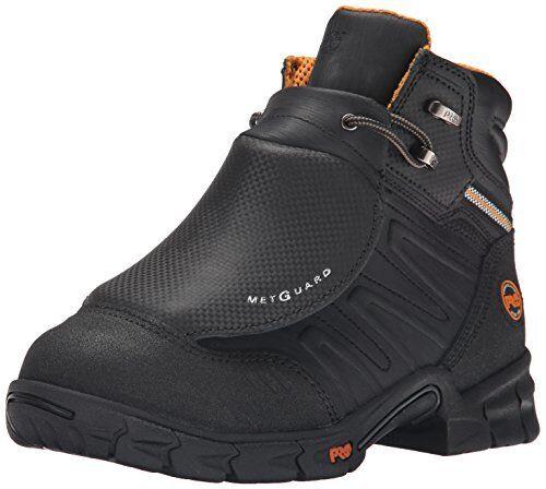 Timberland PRO Men's Excave External Met Guard Work Boot,Black Split Leather,...