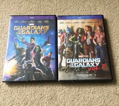 Guardians Of The Galaxy Volume 1 And Volume 2 Dvd Bundle Vol 1 2