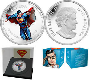 1/2 oz $15 Fine Silver Coin - Modern Day Superman