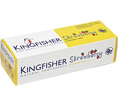 (€6,65/100ml) 1 x 75ml - KINGFISHER - Vegane Zahnpasta für Kinder ohne Fluorid