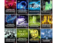 VENGEANCE SOUND SAMPLE CDs // CD // 49 SAMPLE CDs IN TOTAL // FOR CUBASE // LOGIC // REASON