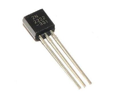100Pcs NPN Transistor TO-92 2N2222