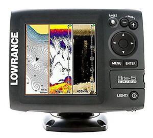 Lowrance ELite-5 CHIRP 000-11650-001 Fishfinder / Chartplotter