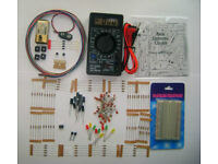 Electronics Lab For Beginners - Practice GCSE - A Levels With Multimeter and CD. FREE DELIVERY.