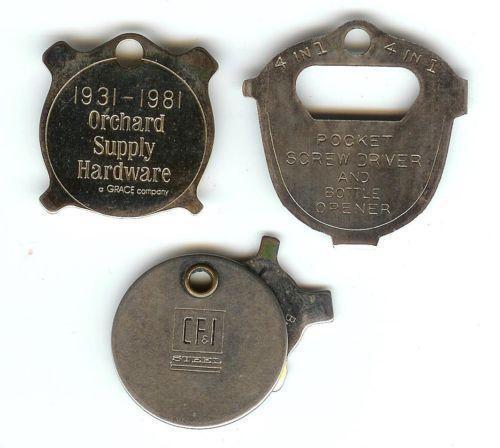 Vintage Keychain Screwdriver Ebay