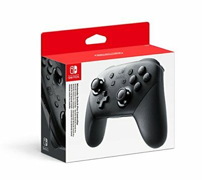 Nintendo Switch Pro Controller - Black (New) - (Free Postage)