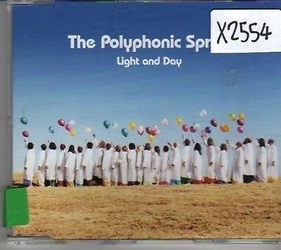 (CL679) The Polyphonic Spree, Light and Day - 2002 DJ CD