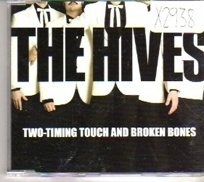 (CT698) The Hives, Two-Timing Touch And Broken Bones - 2004 DJ (The Hives Two Timing Touch And Broken Bones)