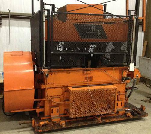 B & K Model 150c-102 Four Post Cut Off Press