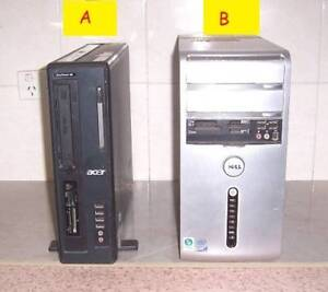 Desktop Computers for Repair/Parts