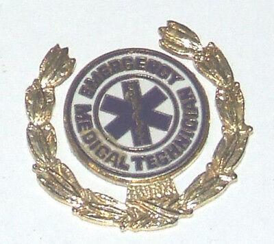 Ambulance EMT Paramedic  Enamelled Hat Tac Lapel Pin