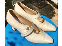 Silk Wedding/Bridal/Special occasion shoes - Size 8