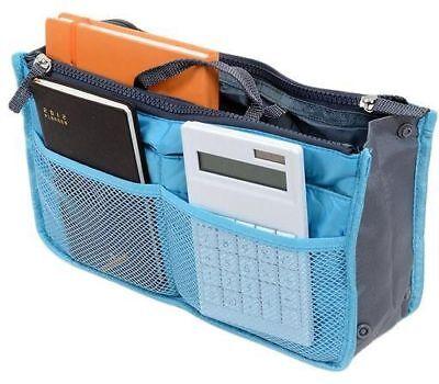 Bag Organizer Insert - Travel Insert Handbag Organizer Purse Small Liner Organizer Tidy Bag Unisex