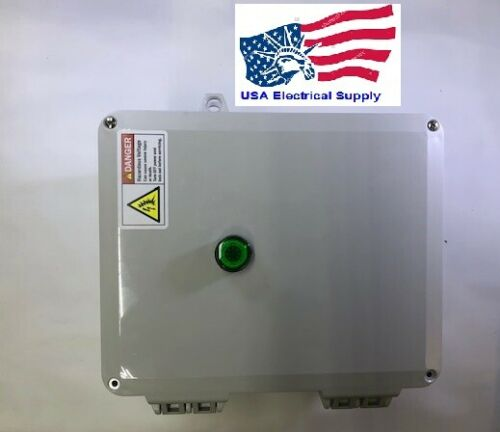 Magnetic Motor Starter Enclosure 7.5HP, 1PH 220/240VAC With Remote Relay 24VAC