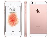 Swap for android phone .. rose gold 32gn SE mint condition