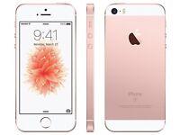 iPhone se rose Gold o2/giffgaff