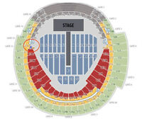 FACE VALUE ONE DIRECTION TICKETS AUGUST 20TH TORONTO