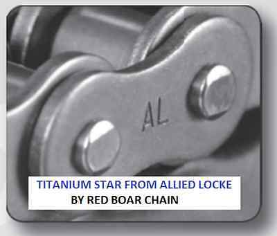 60h-1r X 10ft Heavy Titanium Star Roller Chain By Allied Locke
