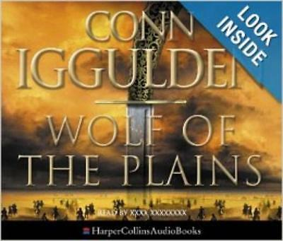 Wolf Of The Plains by Conn Iggulden AUDIO BOOK CDs wolves tribe khan survival