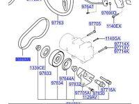 Hyundai A/C Belt COUPE 977132D100