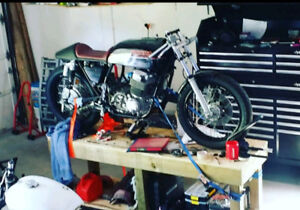 1978 CB750 cafe racer project